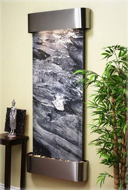 25 best ideas about Indoor waterfall on Pinterest