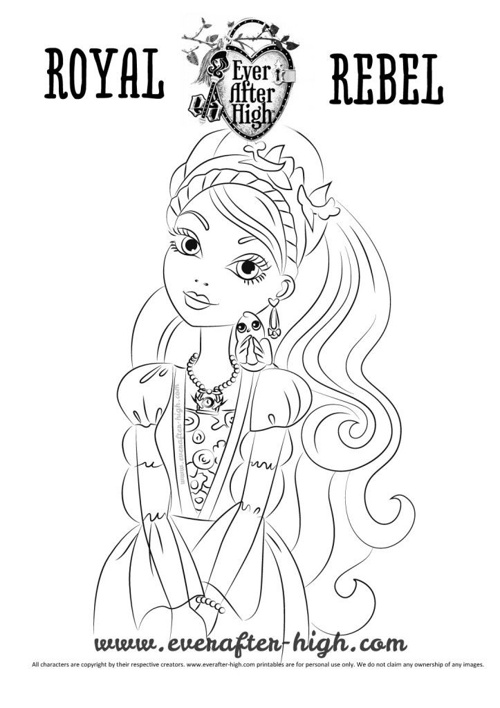 9 best images about Ever After High Free Coloring Pages on