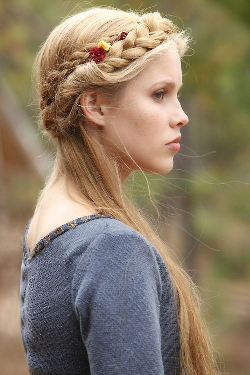 medieval hairstyle  The Goose Girl  Pinterest  Beautiful hairstyles Medieval hair and