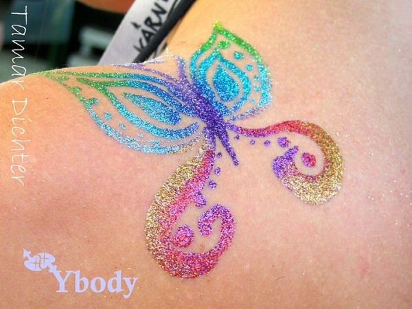 1000 ideas glitter tattoos