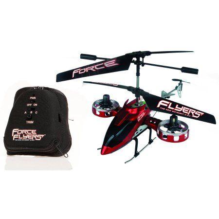 Force Flyers 4 Channel Rc Quad Copter Drone Multicolor