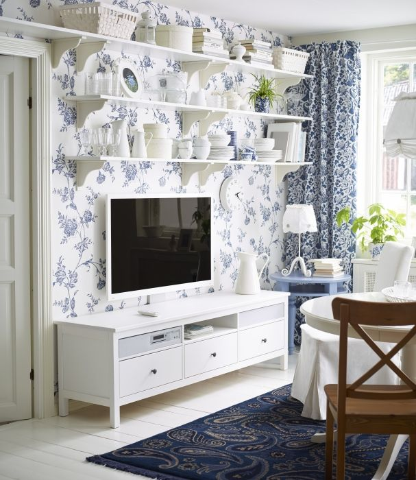 HEMNES solid wood naturally timeless  Living Rooms