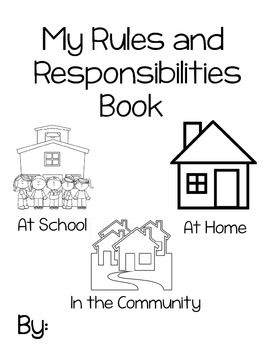 17 Best images about Responsibility on Pinterest