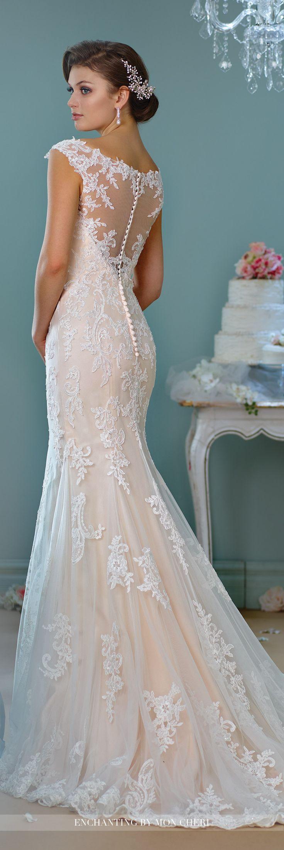 25 Best Ideas about Lace Back Wedding Dress on Pinterest