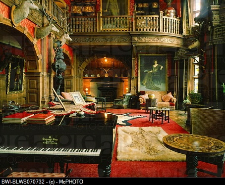 Scottish Castle Interior Music Room My Future Home