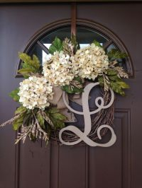 17 Best images about Wreaths and Door Decor on Pinterest