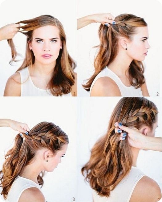 Best 25 Einfache Frisuren Lange Haare Ideas On Pinterest