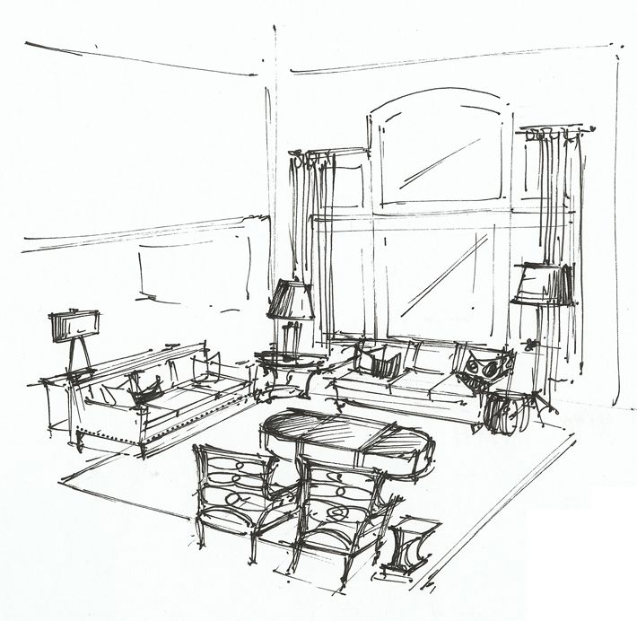 17 Best images about Interior Sketches: Floor Plans