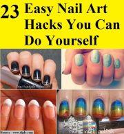 easy nail art hacks