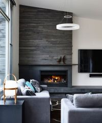 25+ best ideas about Modern stone fireplace on Pinterest ...