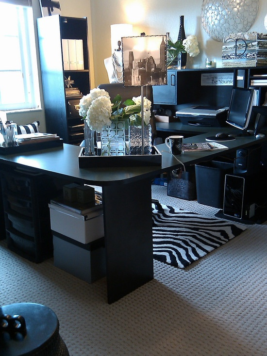 32 best images about Glamorous Home Offices on Pinterest  More Home office design Gold ceiling