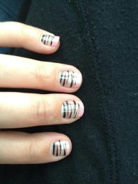Coral Tigress french tip nails buy3 get 1 free here http ...