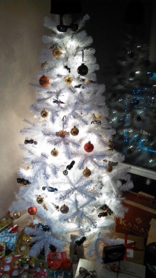Our Harley Davidson Christmas Tree  Christmas  Pinterest