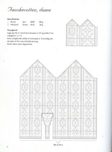 237 best Selbu pattern images on Pinterest