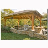 Covered BBQ Area | Home Ideas | Pinterest