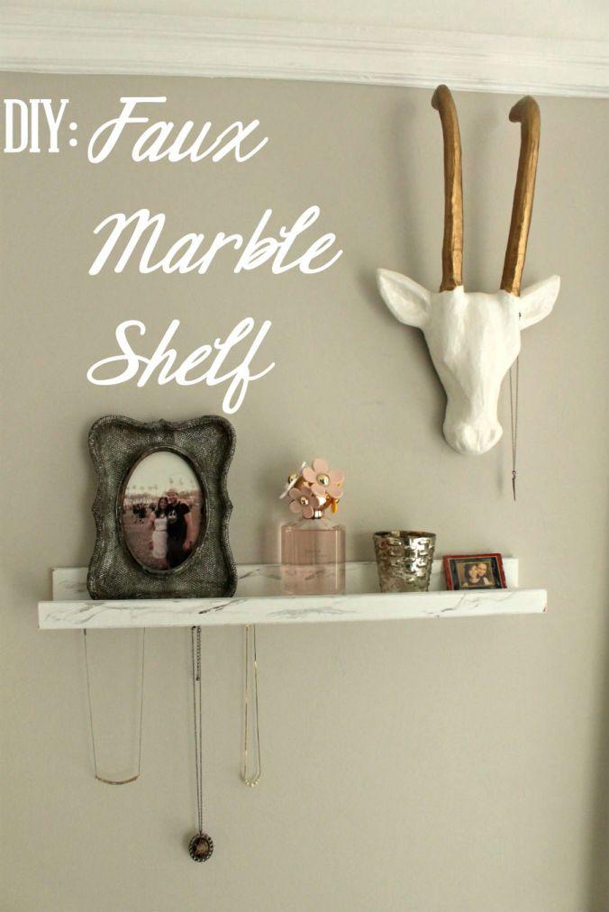 17 Best Ideas About Marble Shelf On Pinterest Large