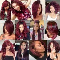 25+ best ideas about Maroon Hair on Pinterest   Burgundy ...