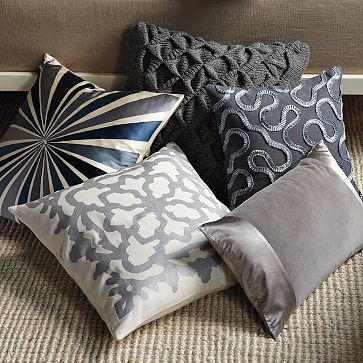 Nice Pinch Technique To Create Diamonds Top Pillow And Fancy Ribbon Sewed On In Pillows Beddecorative