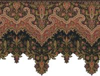 Ornate and Detailed Large Victorian Wallpaper Border or ...
