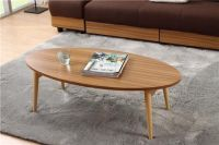 Modern Wood TV Center Sofa Table Folding Legs Living Room ...
