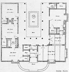 25 Best Ideas About Courtyard House Plans On Pinterest One Floor Interior And Layout