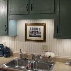Painting Kitchen Cabinets Ideas Outdoor Kits Beadboard Painted With Annie Sloan Chalk Paint Old Ochre ...