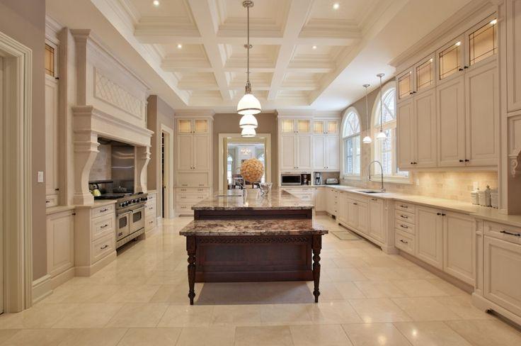 Beautiful Kitchen In A Toronto Mansion Kitchens