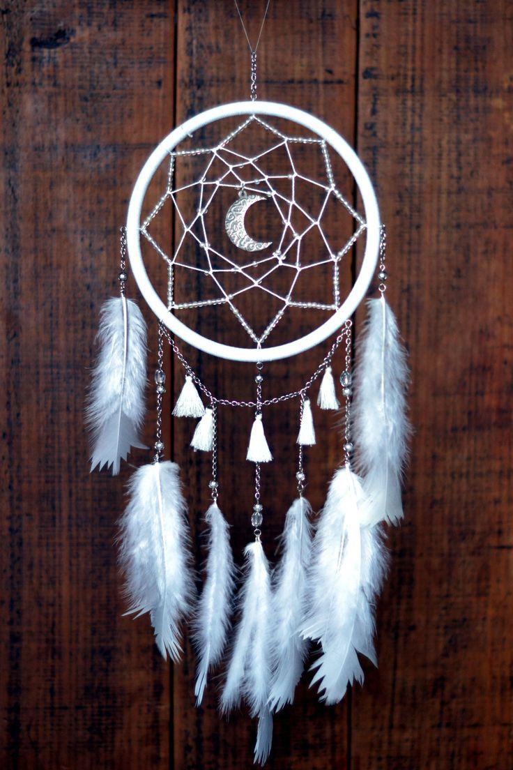 25+ Best Ideas About Moon Dreamcatcher On Pinterest  Diy