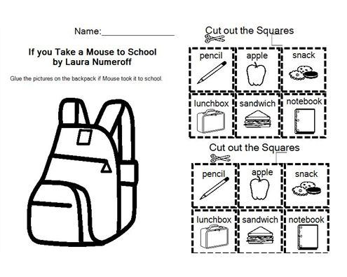 17 Best images about If You Take a Mouse to School on