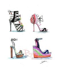 25+ best ideas about Shoe Illustration on Pinterest ...