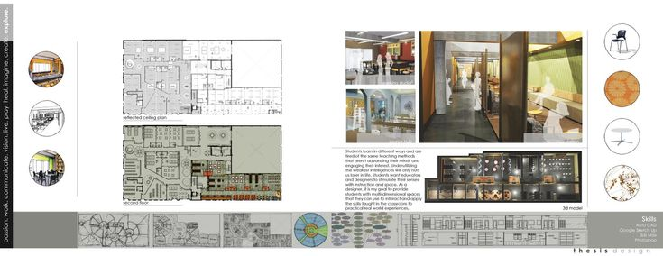 Interior Design Student Portfolio Book