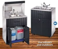 portable sink with hot and cold water | Studio Ideas ...