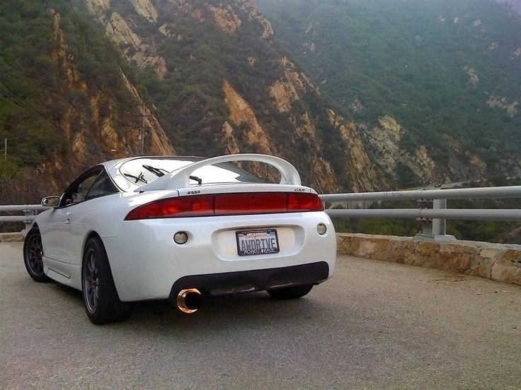 2g Eclipse GSX With Rear Lip Fake Diffuser DSMtuners