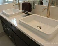 Blanco Maple Silestone Vanity Top Bathroom by RJK