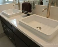 Blanco Maple Silestone Vanity Top Bathroom by RJK ...