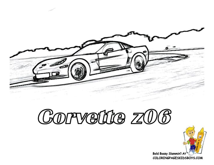 Corvette z06 Car Coloring Pages You Can Print Out... http
