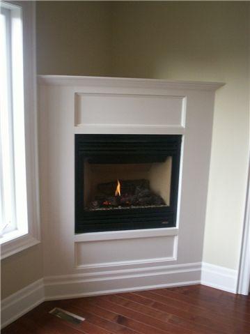 Corner Gas Fireplace  Lennox Zero Clearance Gas FIreplace