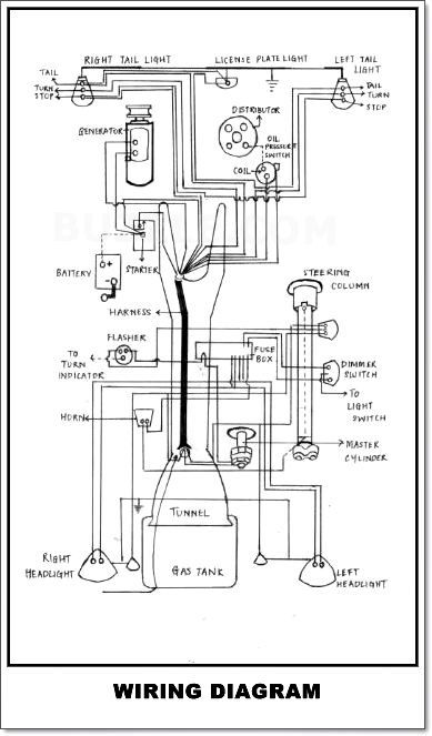 wiring diagram for vw beach buggy