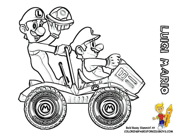 9 best images about Amazing Super Mario Coloring Pages on
