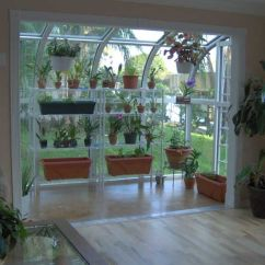 Kitchen Greenhouse Window Movable Cabinets The Gardener In Me Screams For An Indoor Solarium! How ...