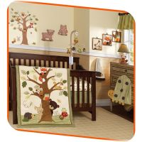 lambs and ivy echo | Lambs & Ivy Baby Cocoa 9-Piece Crib ...