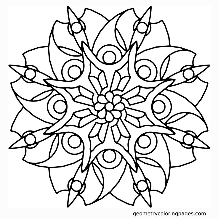 169 best Mandalas and other coloring pages images on Pinterest