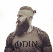 strong bearded