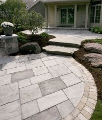 Best 25+ Slate pavers ideas on Pinterest | Stone walkway ...