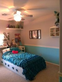 My daughter's Tiffany blue/silver-Paris theme new bedroom ...