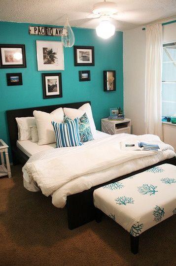 Best 25+ Turquoise bedroom walls ideas on Pinterest