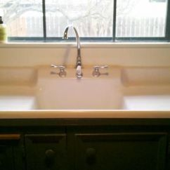 Kitchen Sinks With Drainboard Built In Unfinished Table 17 Best Images About On Pinterest ...
