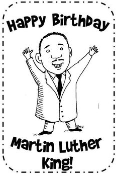 17 Best ideas about Martin Luther King Birthday on