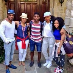 Ideas On How To Arrange Living Room Furniture Navy Blue And Brown Decor Kirk Franklin & Fam 4th Of July | Black People Today ...