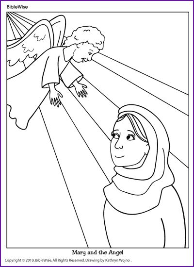 10 best images about Bible Lessons: Mary and the Angel on